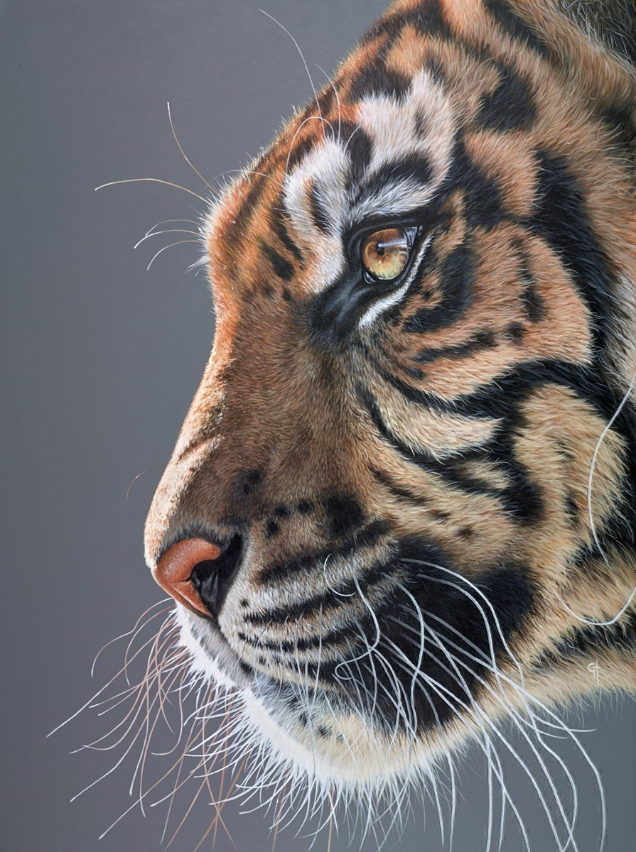 Proud by Gina Hawkshaw -  sized 36x47 inches. Available from Whitewall Galleries